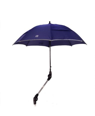 Schirm zu Spring Rollator blau