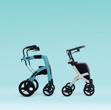 Rollstuhl Rollator 2 in 1